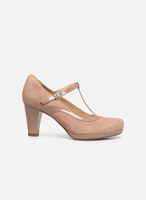 High heels Clarks Chorus Pitch Beige back view