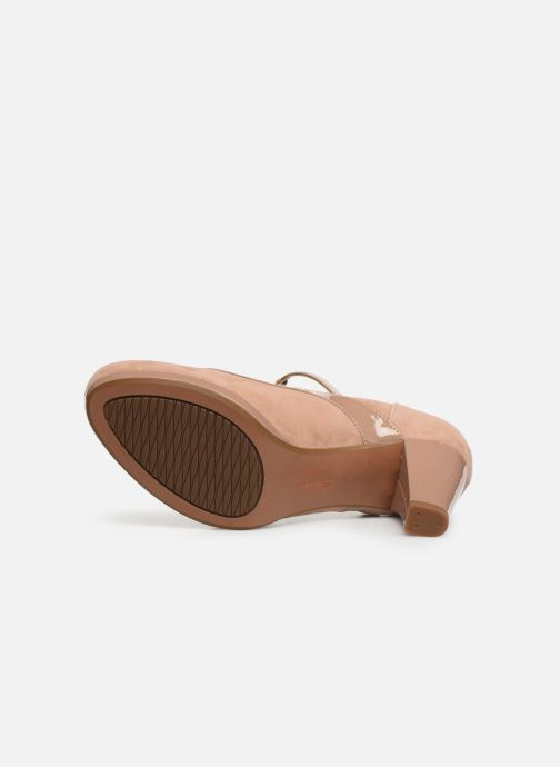 High heels Clarks Chorus Pitch Beige view from above