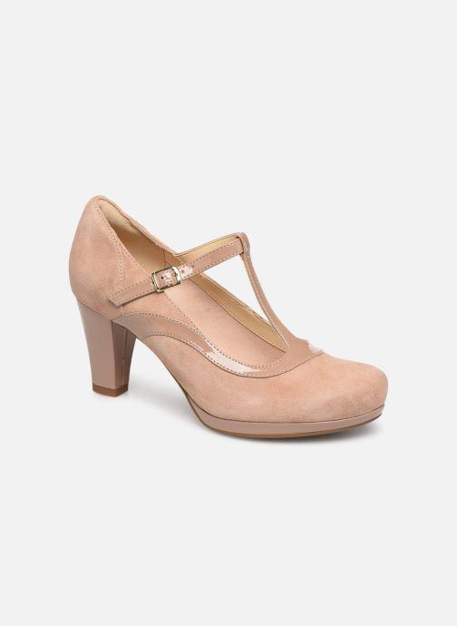 High heels Clarks Chorus Pitch Beige detailed view/ Pair view