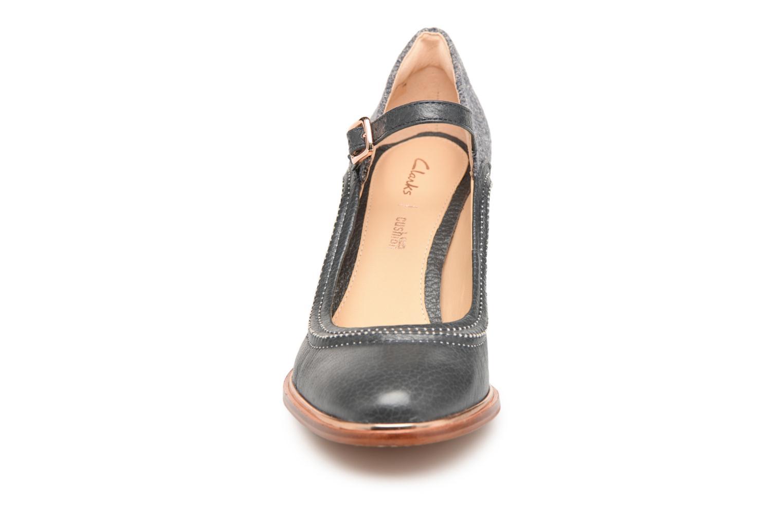 Escarpins Clarks Ellis Mae Gris vue portées chaussures