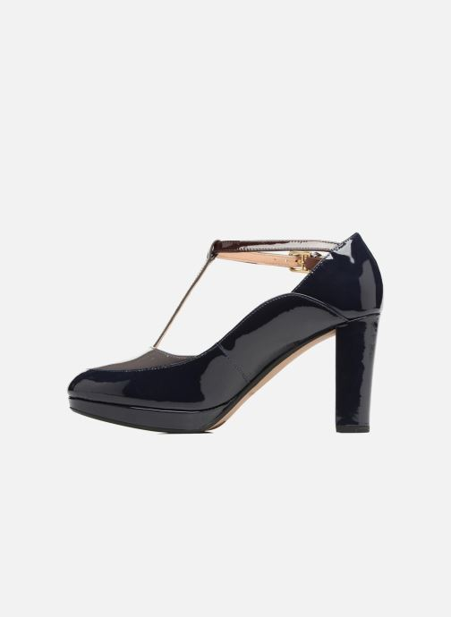 High heels Clarks Kendra Daisy Black front view
