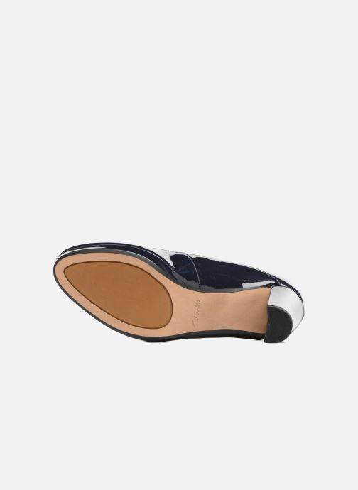 High heels Clarks Kendra Daisy Black view from above