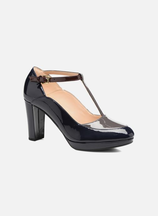 High heels Clarks Kendra Daisy Black detailed view/ Pair view
