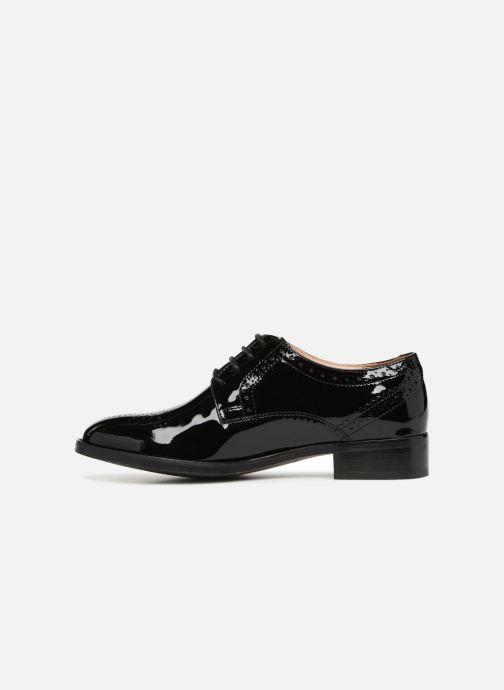 Chaussures à lacets Clarks Netley Rose Noir vue face