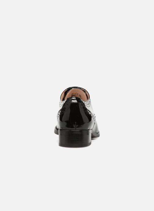 Chaussures à lacets Clarks Netley Rose Noir vue droite
