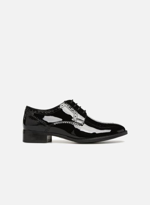 Chaussures à lacets Clarks Netley Rose Noir vue derrière
