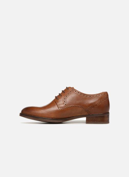 Snörade skor Clarks Netley Rose Brun bild från framsidan