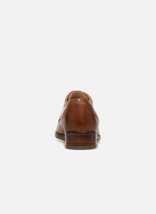 Snörade skor Clarks Netley Rose Brun Bild från höger sidan