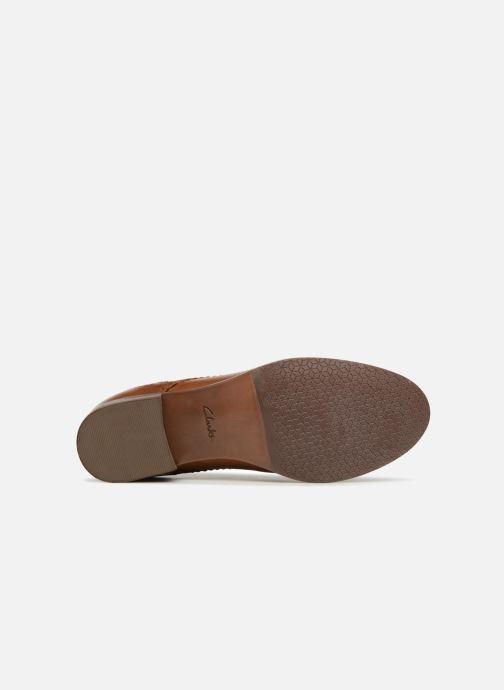 Snörade skor Clarks Netley Rose Brun bild från ovan