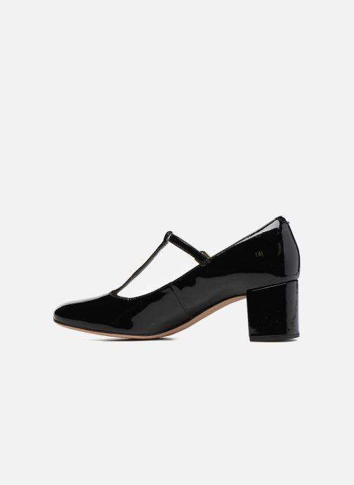 High heels Clarks Orabella Fern Black front view