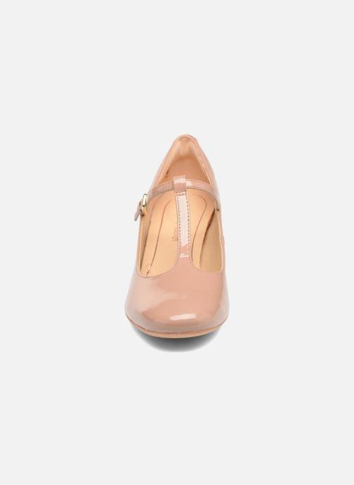 High heels Clarks Orabella Fern Beige model view