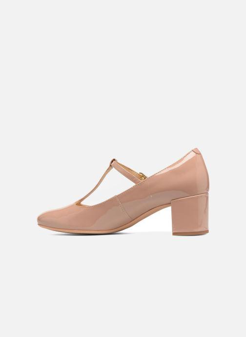 High heels Clarks Orabella Fern Beige front view
