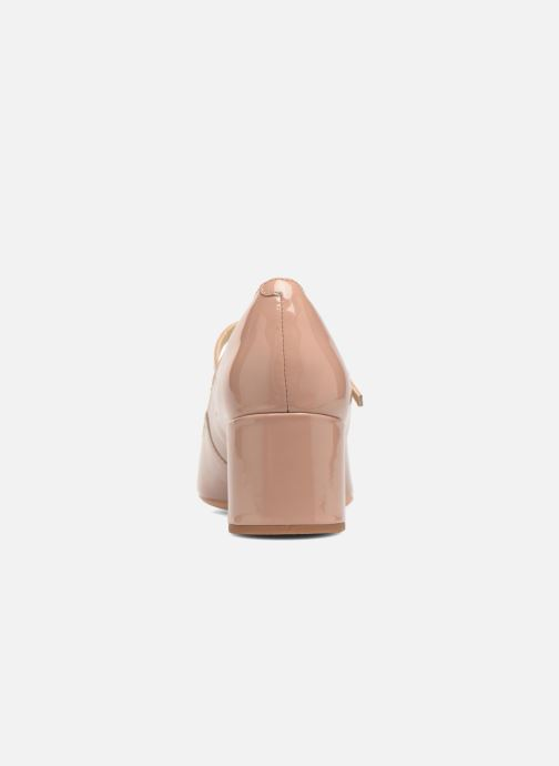 High heels Clarks Orabella Fern Beige view from the right