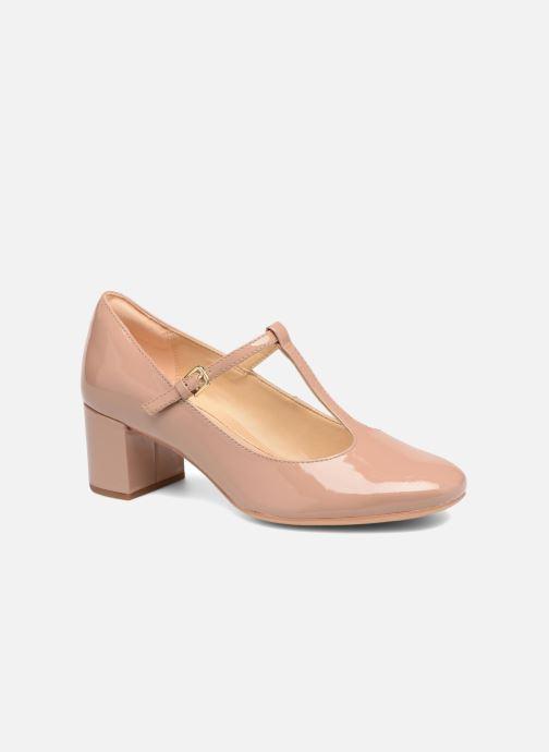 High heels Clarks Orabella Fern Beige detailed view/ Pair view