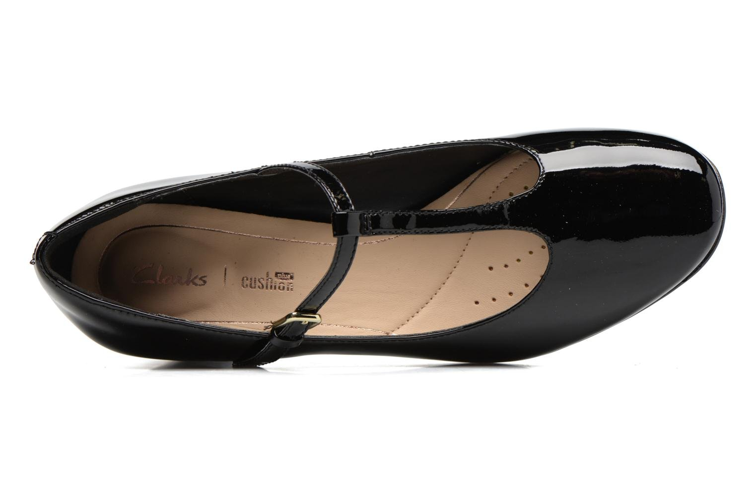 High heels Clarks Orabella Fern Black view from the left