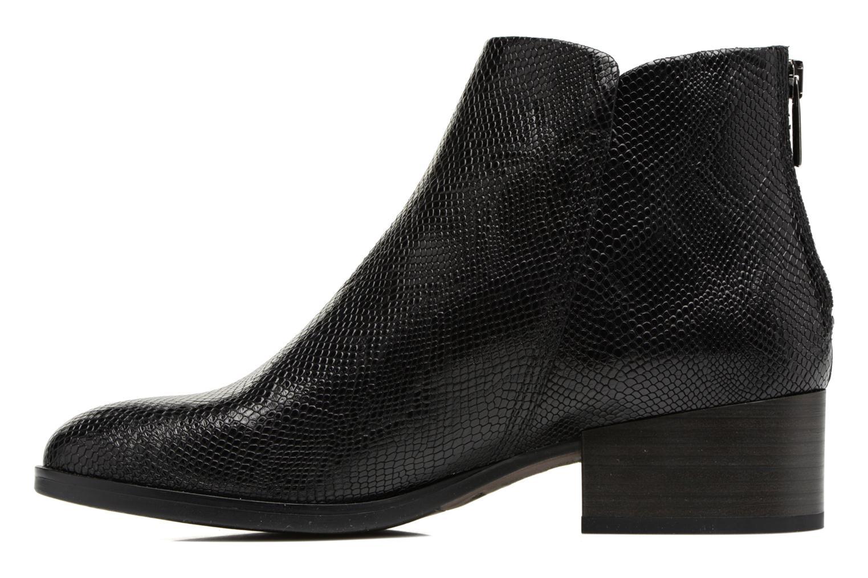 Bottines et boots Clarks Elvina Down Noir vue face