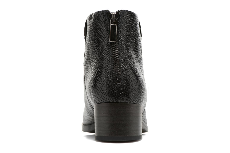 Bottines et boots Clarks Elvina Down Noir vue droite
