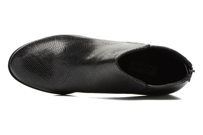 Bottines et boots Clarks Elvina Down Noir vue gauche