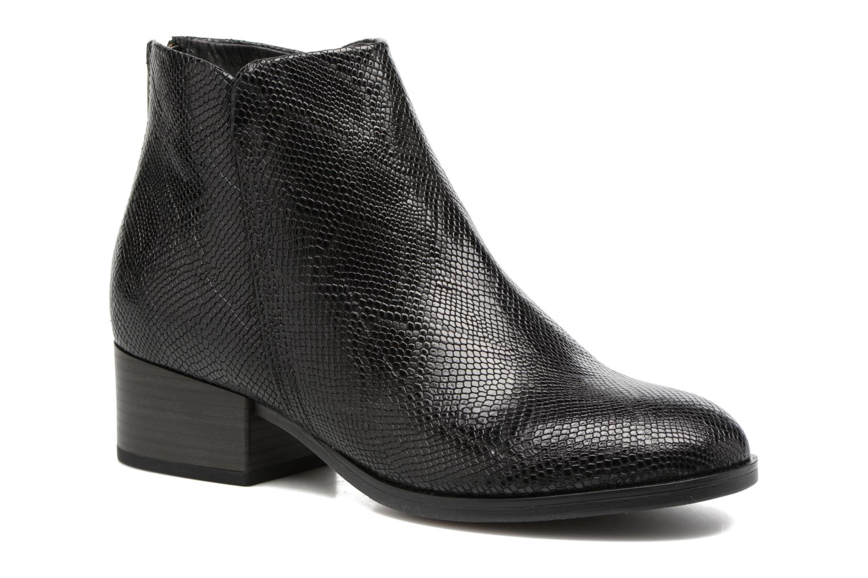 Bottines et boots Clarks Elvina Down Noir vue détail/paire
