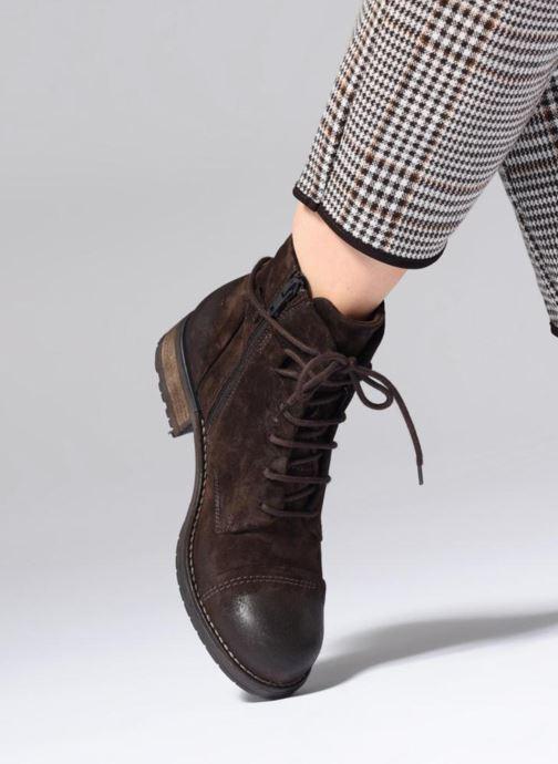 Bottines Boots Clarks Stone Leather Et Tan Adelia LqSzVpGUM