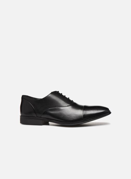 Chaussures à lacets Clarks Gilman Cap Noir vue derrière