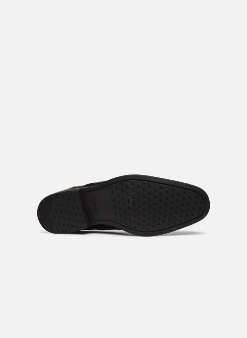 Chaussures à lacets Clarks Gilman Cap Noir vue haut