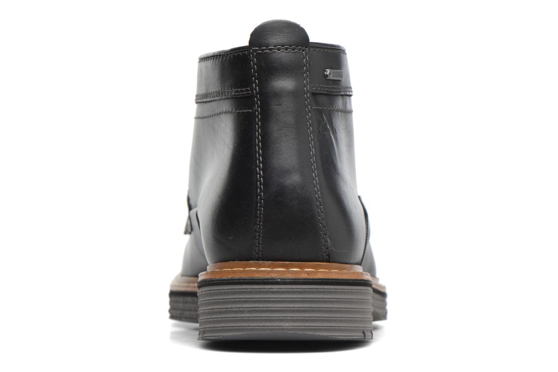 Bottines et boots Clarks Newkirk Up GTX Noir vue droite