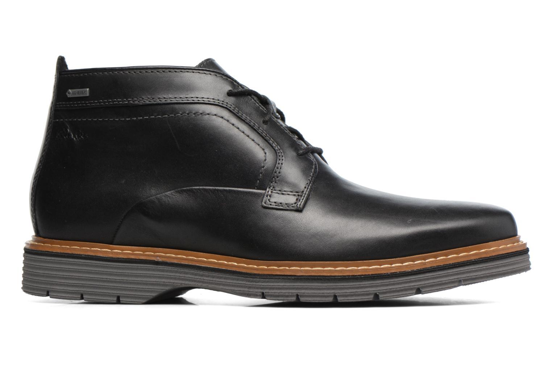 Bottines et boots Clarks Newkirk Up GTX Noir vue derrière