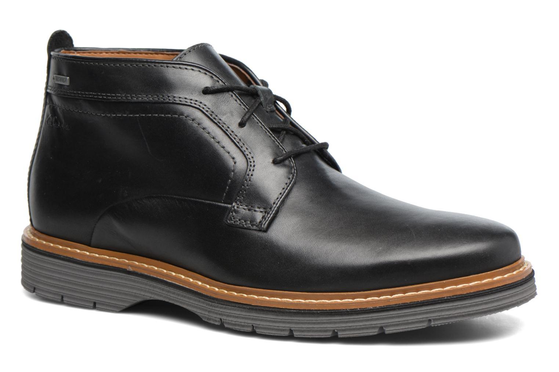 Bottines et boots Clarks Newkirk Up GTX Noir vue détail/paire