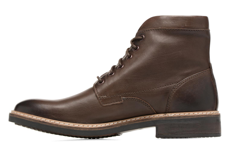 Bottines et boots Clarks Blackford Hi Marron vue face