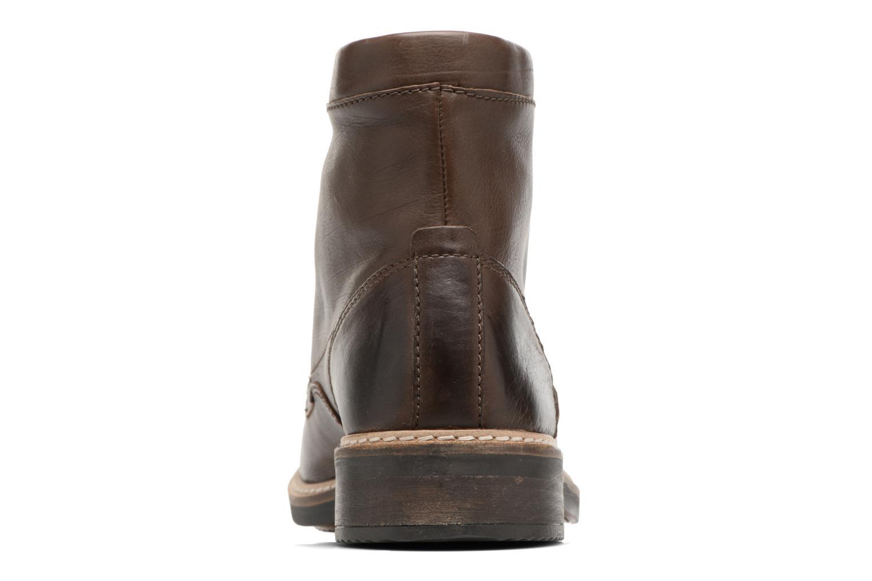 Bottines et boots Clarks Blackford Hi Marron vue droite