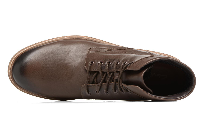 Bottines et boots Clarks Blackford Hi Marron vue gauche