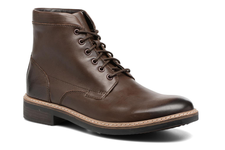 Bottines et boots Clarks Blackford Hi Marron vue détail/paire