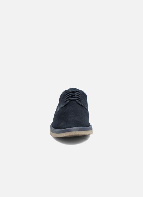 Chaussures à lacets Clarks BonningtonLace Bleu vue portées chaussures