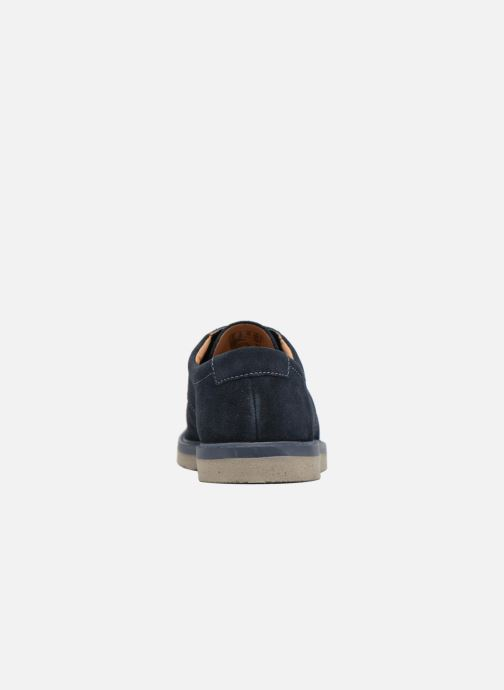 Chaussures à lacets Clarks BonningtonLace Bleu vue droite