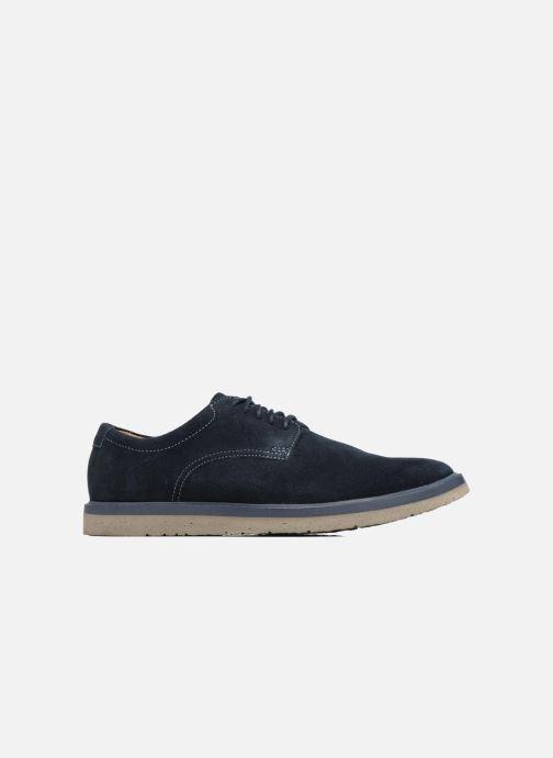 Chaussures à lacets Clarks BonningtonLace Bleu vue derrière
