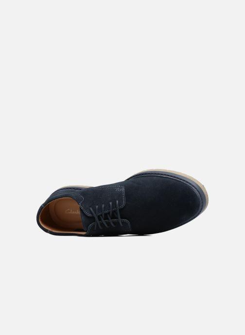 Chaussures à lacets Clarks BonningtonLace Bleu vue gauche