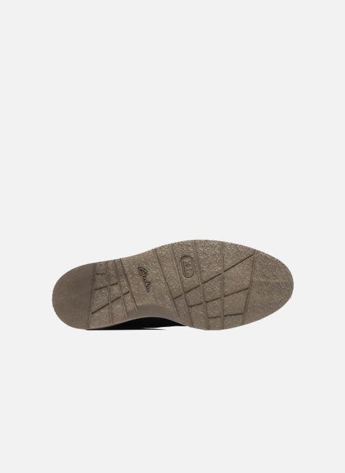 Chaussures à lacets Clarks BonningtonLace Bleu vue haut