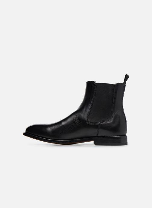 Bottines et boots Clarks Ellis Franklin Noir vue face