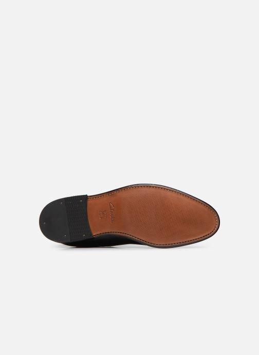 Bottines et boots Clarks Ellis Franklin Noir vue haut