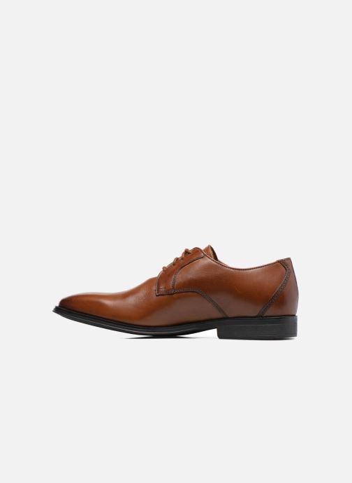 Chaussures à lacets Clarks Gilman Lace Marron vue face