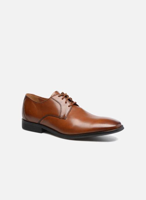 Snøresko Clarks Gilman Lace Brun detaljeret billede af skoene