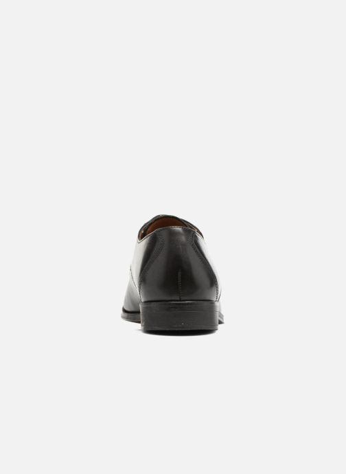 Zapatos con cordones Clarks Gilman Mode Negro vista lateral derecha