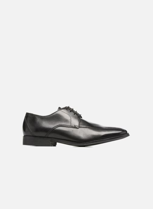 Lace-up shoes Clarks Gilman Mode Black back view
