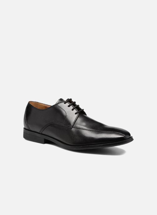 Zapatos con cordones Clarks Gilman Mode Negro vista de detalle / par