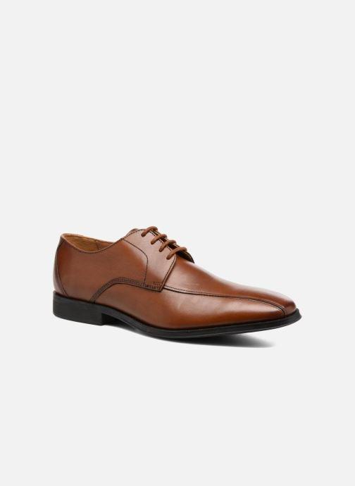 Schnürschuhe Clarks Gilman Mode braun detaillierte ansicht/modell