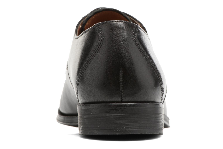 Chaussures à lacets Clarks Gilman Mode Noir vue droite