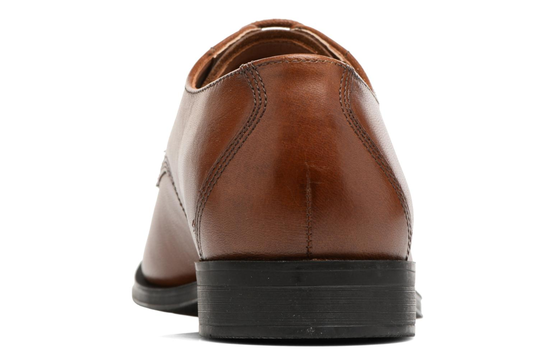 Chaussures à lacets Clarks Gilman Mode Marron vue droite