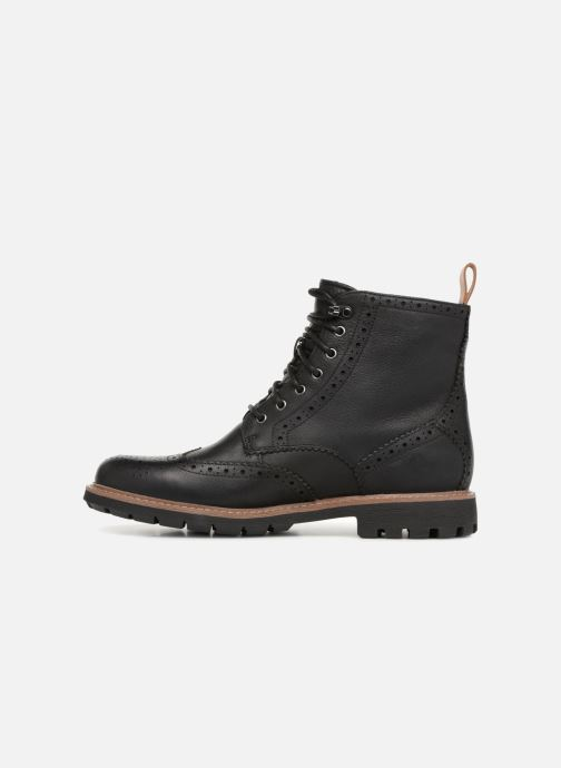 Ankle boots Clarks Batcombe Lord Black front view