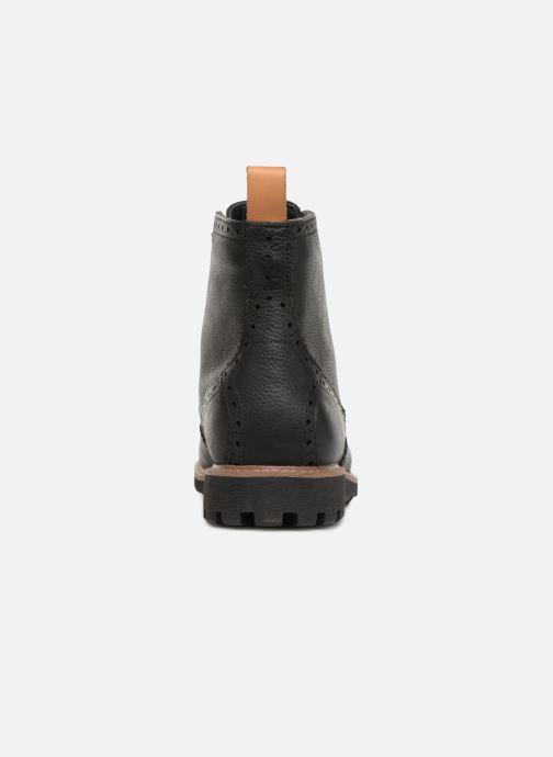 Bottines et boots Clarks Batcombe Lord Noir vue droite